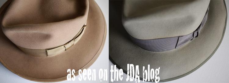 ウィペットよりも「軽い」というキャッチコピーで 発表されたドブス社モデル。 シルエット、スタイル、ワイドリボンまでも同じ寸法を保つ。