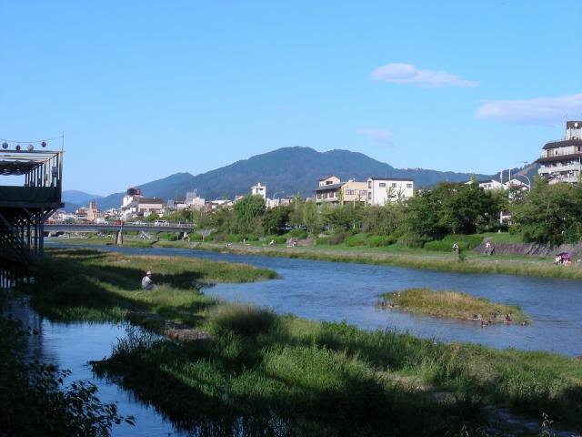 豊国萩、鴨川 128