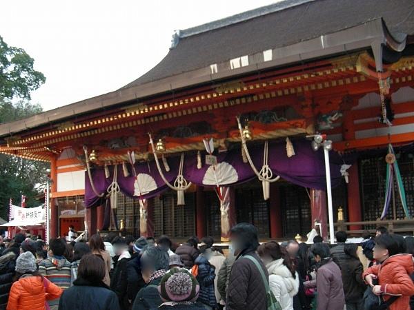 20121月神戸、八坂神社 088
