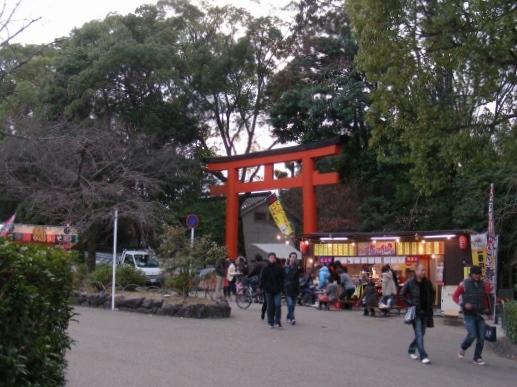 20121月神戸、八坂神社 102