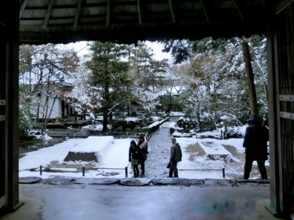 雪銀閣寺浄土寺 178