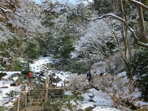 雪銀閣寺浄土寺 130