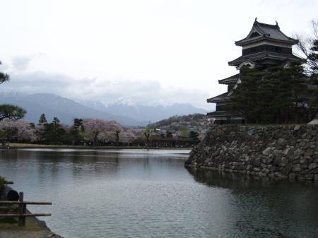 4/13松本城と上高地