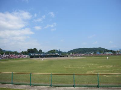 全県少年野球大会の様子H23.6.19