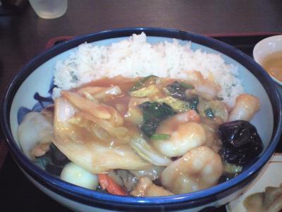 中華丼(醤油)②