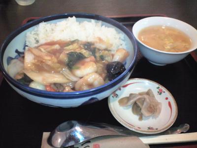 中華丼(醤油)①
