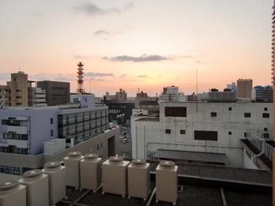秋田キャッスルホテル様客室からみた風景