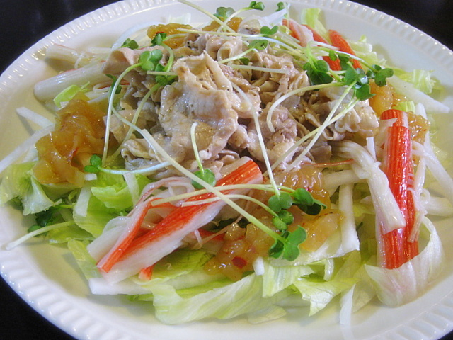 tonshabu-salad