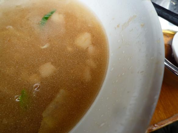 11年5月3日 野猿 ラーメン スープ