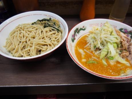 141011_横浜関内_味噌つけ麺_ヤサイニンニク