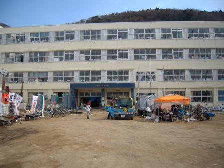 湊小学校(避難所)