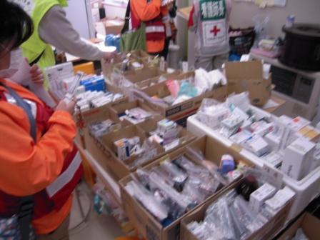湊小学校診療所の備蓄医薬品