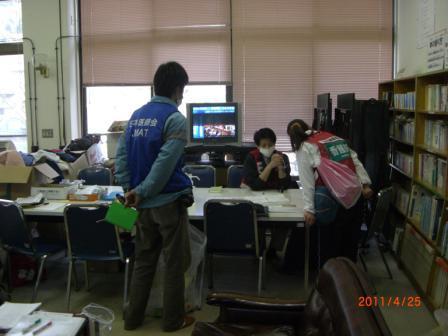 8-稲井公民館での診察