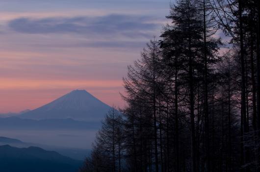 2010 02 14_1668 富士朝焼け~天女山 (12)