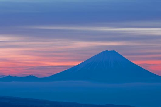 2010 02 14_1668 富士朝焼け~天女山 (4)
