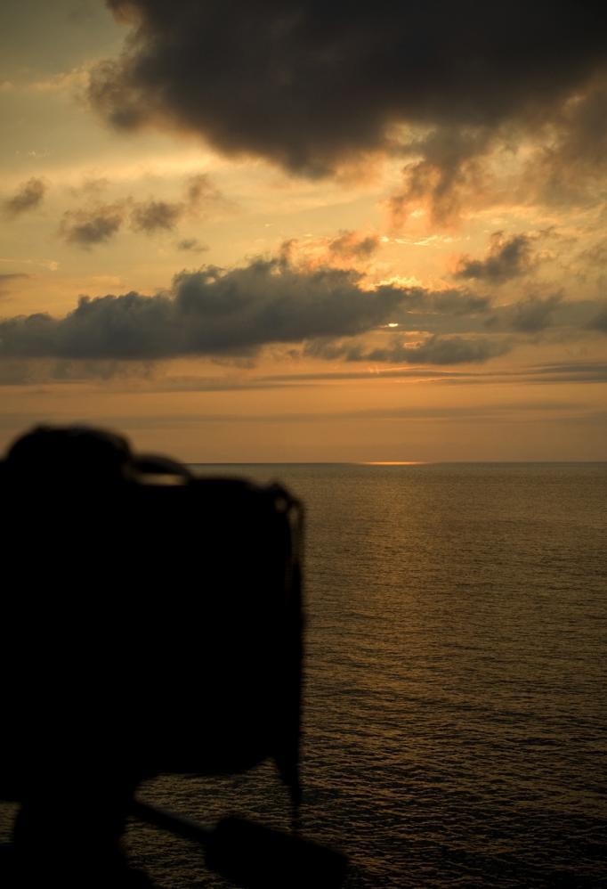 夕日とD2x001