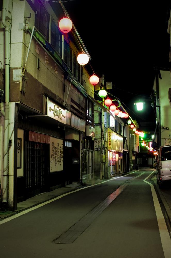 草津温泉 夜5