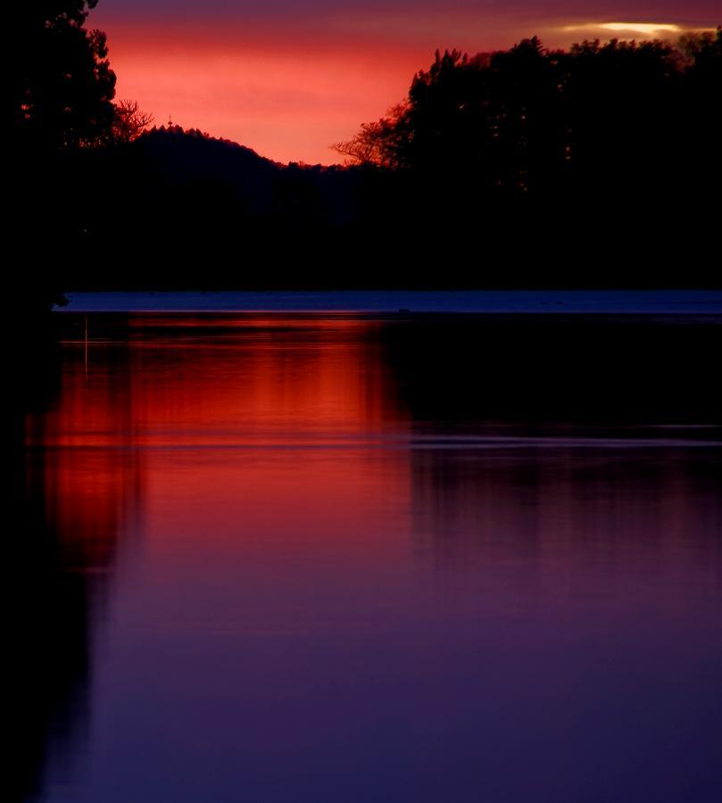 2010 湯の湖 朝焼け2