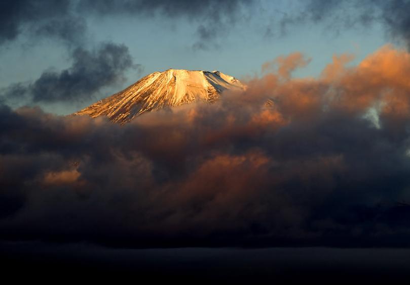 コピー ~ 山中湖朝 富士朝焼け (3)_filtered