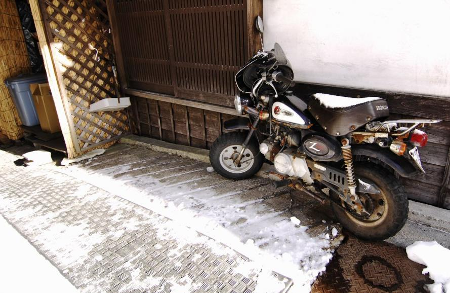 2010 12 26 草津 バイク