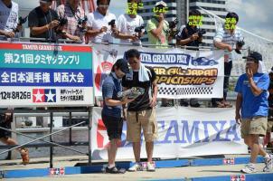 タミヤ全日本関西2012 GPX-CL2 予選