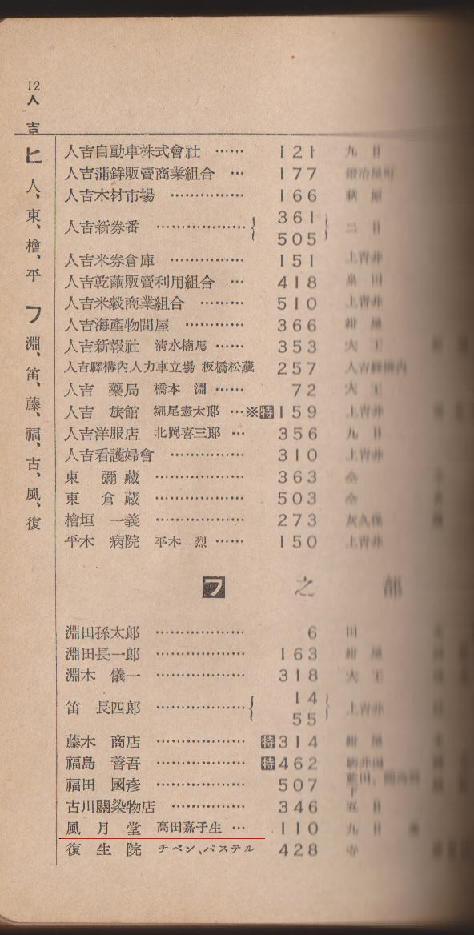 電話番号簿3
