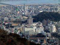 徳島市中心街