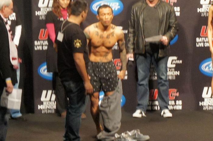 UFC JAPN 公開計量5