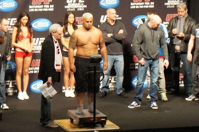 UFC JAPN 公開計量8
