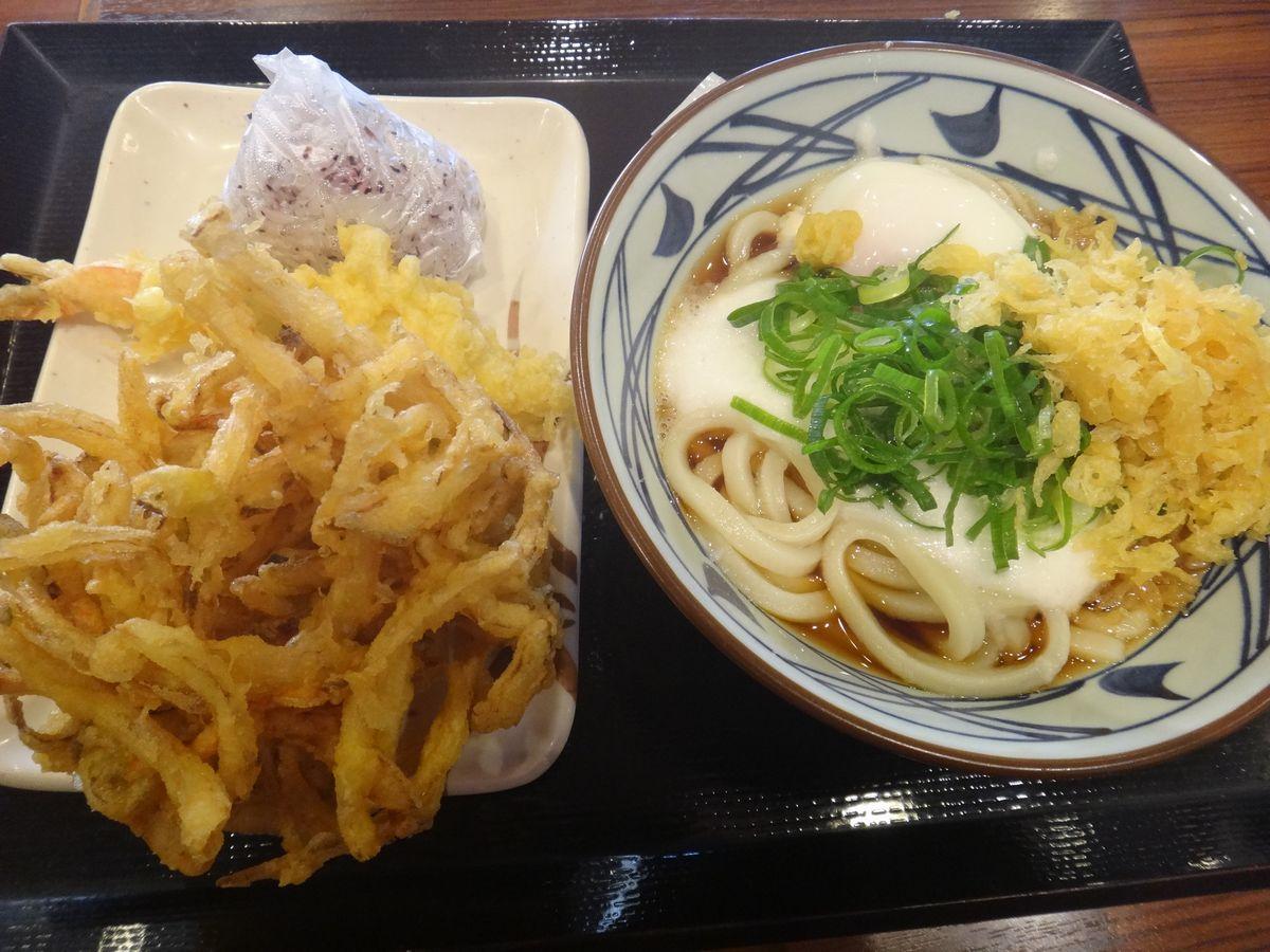 釜揚げうどん 丸亀製麺2