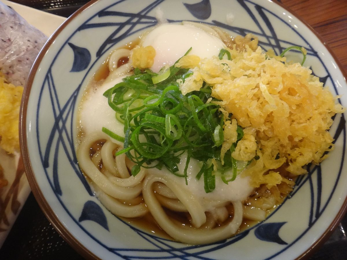 釜揚げうどん 丸亀製麺3