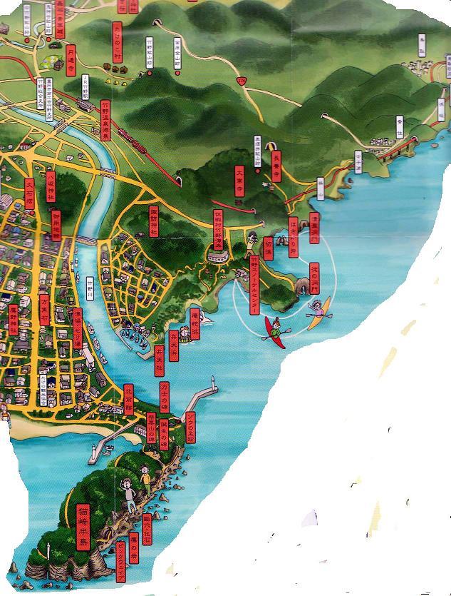 竹野浦地図