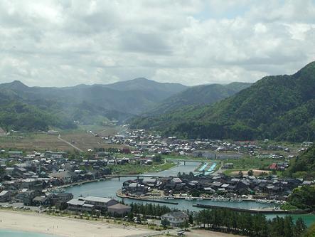 賀島山から