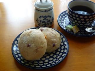レーズンクランベリーパン