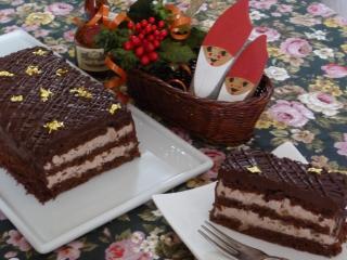 クリスマスケーキ・カット