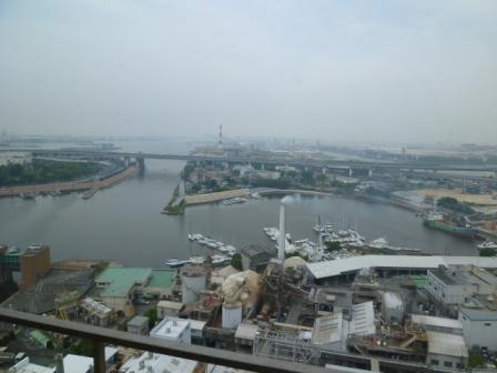リーガロイヤルホテル堺(海側眺望)