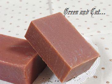 ローズクレイ石鹸1