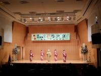 民謡舞踊連盟発表会