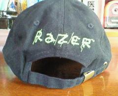 Razer帽子・裏