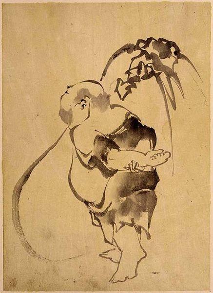 437px-Hokusai,_Hotei