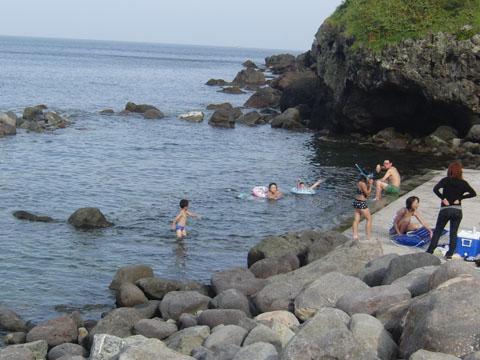 恵山の露天風呂