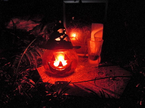 ハロウィンの灯