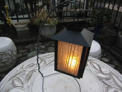 素敵なランプ
