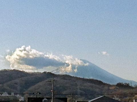 富士山の雲は・・・