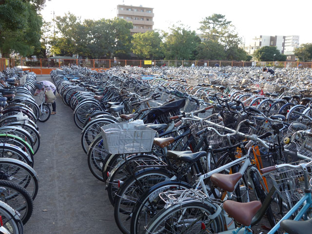 自転車がない!