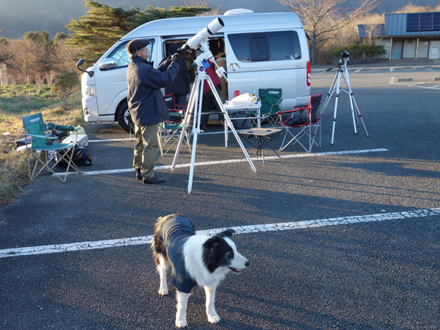 天体望遠鏡もセット