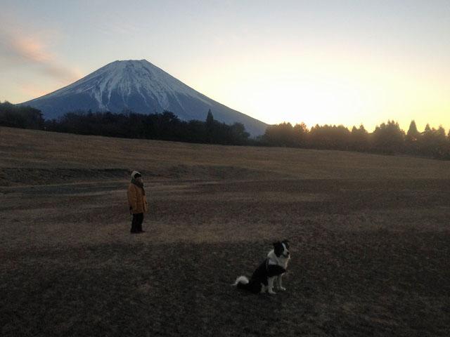 赤富士にはならず