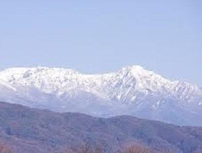 諏訪湖から赤岳-crop