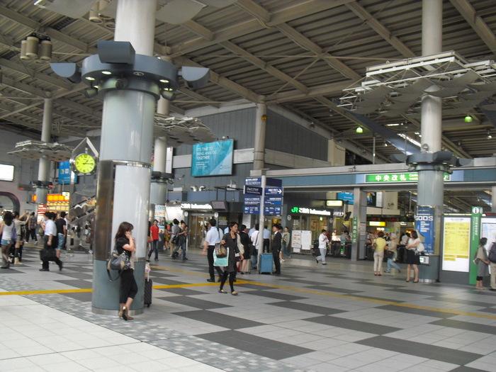 帰りの品川駅
