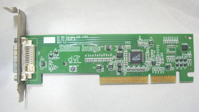 Silicon Image SIL 164 Carrera add card AGP DVI